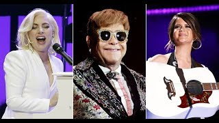 Review Megastars Turn Out for Splashy Elton John Tributes 'Revamp' and 'Restoration'