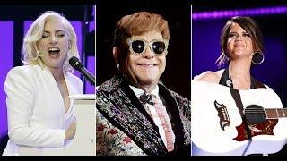 Review Megastars Turn Out for Splashy Elton John Tributes 'Revamp' and 'Restoration'