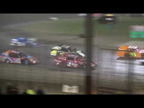 Governor's Cup IMCA Modified feature Davenport Speedway 9/21/18