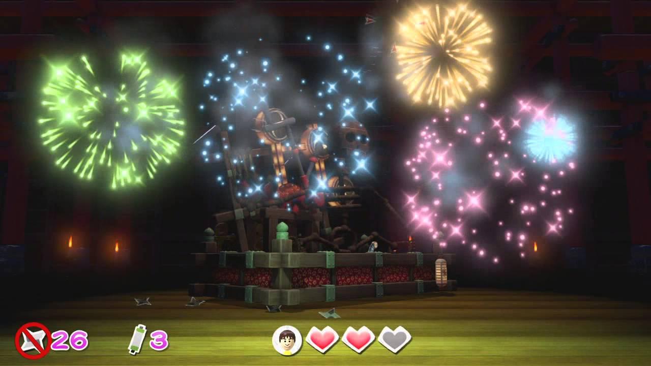 Nintendo Land Wii U - Takamaru's Ninja Castle (complete ...