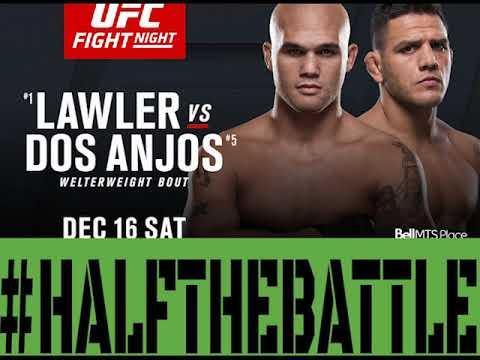 UFC Winnipeg: Lawler vs Dos Anjos Bets, Picks, Predictions on Half The Battle - UFC on Fox 26