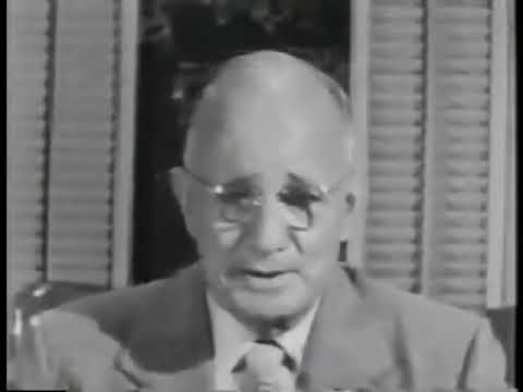 Think And Grow Rich Summary - Napoleon Hill Old ORIGINAL Movie 1938