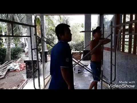 Ba đóng La Phông Minh Thy phụ dọn dẹp _YênVy MinhThy