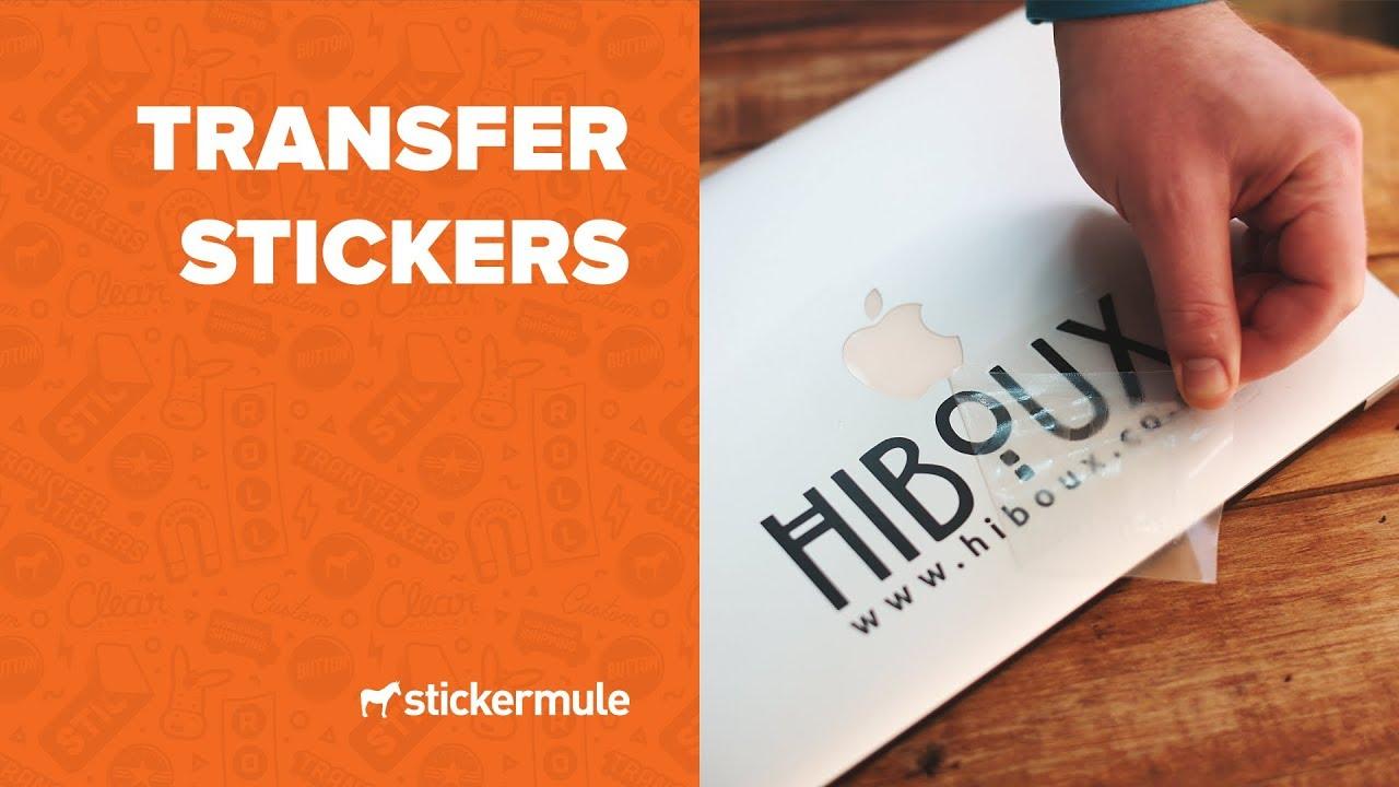 Transfer stickers