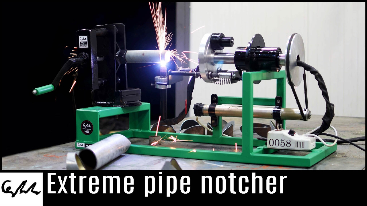 Make It Extreme S Plasma Cutter Notcher Youtube