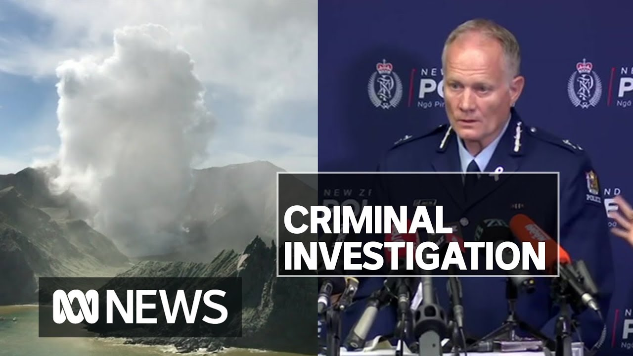White Island volcano: New Zealand police investigating deaths and ...