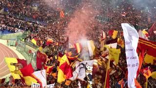 Roma Liverpool 4-2 INNO ROMA ROMA Tutto lo stadio 02/05/2018