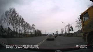 27.03.2015 Дорога на ТО-1 в Москву (часть 1)