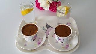 Bol Köpüklü Türk Kahvesi Nasıl Yapılır?Türk Kahvesini Birde Böyle Deneyin-Gurbetinmutfagi
