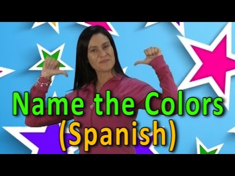 Name The Colors in Spanish | Colors | Colors Song | Name The Color | Jack Hartmann