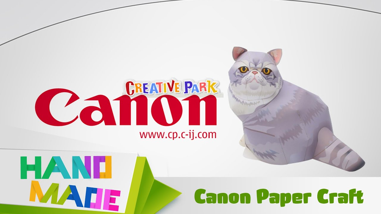 Canon paper craft youtube jeuxipadfo Images