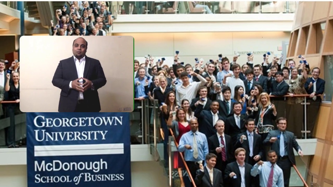 georgetown law one minute video