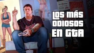 Los 5 Personajes Más Odiosos en juegos de Grand Theft Auto