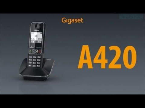 Видео обзор Gigaset A420