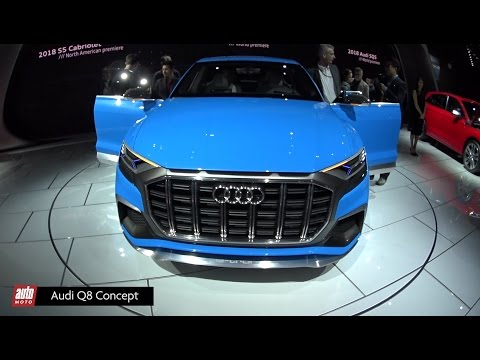 Audi Q8 Concept [SALON DETROIT 2017] : le futur gros SUV coupé aux Anneaux