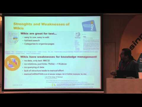 SMWCon Fall 2014, Tutorial 01, Bernhard Krabina, Knowledge Management with Wikis