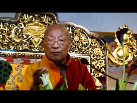 His Holiness Khamtrul Rinpoche - Rigzin Dudpa Ganachakra Puja offering