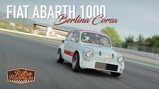Manuel Juncosa & Fiat Abarth 1000 | RetroRacing.es