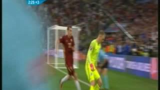 خطأ كارثي من «جو هارت» في نهاية مباراة انجلترا وروسيا