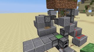 Minecraft: Secret vertical entrance/exit with Slime blocks (1.8+)