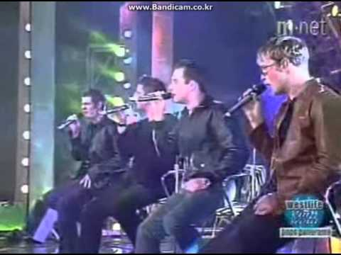 Westlife - Fool Again (live) 2000 Coast To Coast showcase in korea