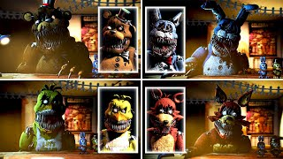 Five Nights at Freddy's 4 Animatronic Interviews