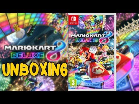 Mario Kart 8 Deluxe Unboxing, Analisis, Review | Mario Kart 8 Deluxe Unboxing Español