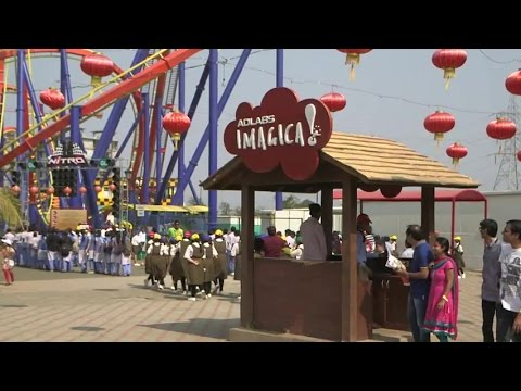 Atlas Copco's VSD compressors now in Entertainment Theme Park – Adlabs Imagica, India