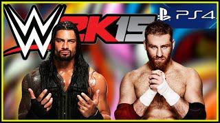 Roman Reigns vs. Sami Zayn TLC WWE 2K15 Full Match PS4 Gameplay