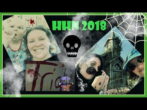 HHN 2018 Opening Night   Halloween Horror Nights Vlog Orlando