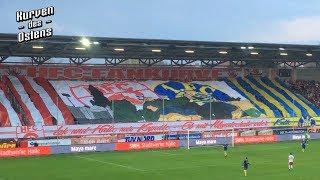 Hallescher FC 4:2 1. FC Lokomotive Leipzig 11.04.2018 | Choreos & Support