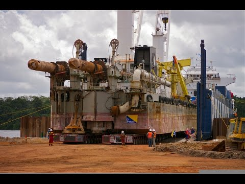 The Incredible Journey of a Dredge...