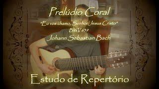 🎼 Repertório: Melodia do Prelúdio Coral de J.S. Bach