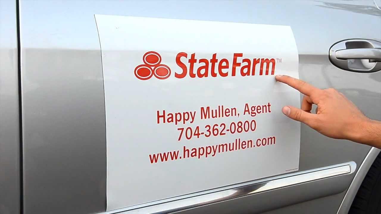 Custom Magnetic Car Sign YouTube - Custom car magnet advertising