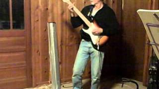 Left-Handed Upside Down One Man Guitar Band - Gary Shaw