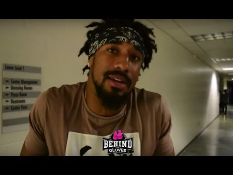 """DEMETRIUS ANDRADE: [BJ SAUNDERS] """"TALKING SMACK ABOUT CANELO, YOU SITTING HERE DOING SAME THING!"""""""