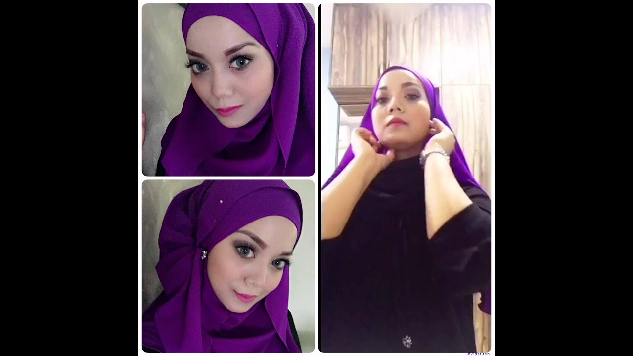 Tutorial Shawl Elfira Loy Half Moon Shawl Youtube