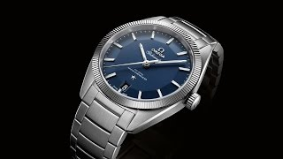 OMEGA Globemaster in steel TV campaign