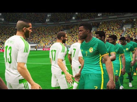 Algeria vs Senegal | Cup Africa | Full Match D. Ba Amazing Goal | Pes Gameplay