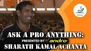 Sharath Kamal Achanta | Ask a Pro Anything presented by Andro