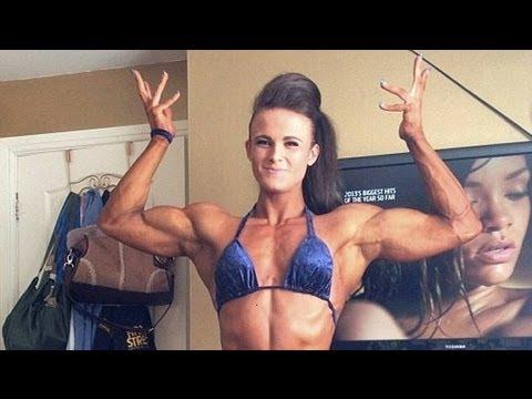 19Yr Old Female Body Builder - Georgina McConnell