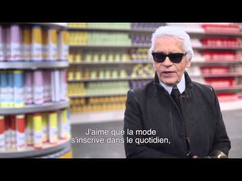 Chanel Shopping Center interview de  Karl  Lagerfeld vf