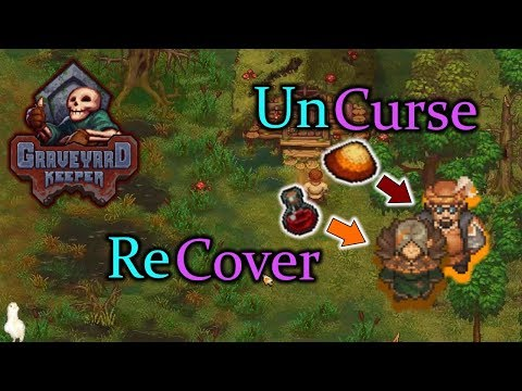 Uncurse Merchant and Recover Clotho's Memory Graveyard Keeper |