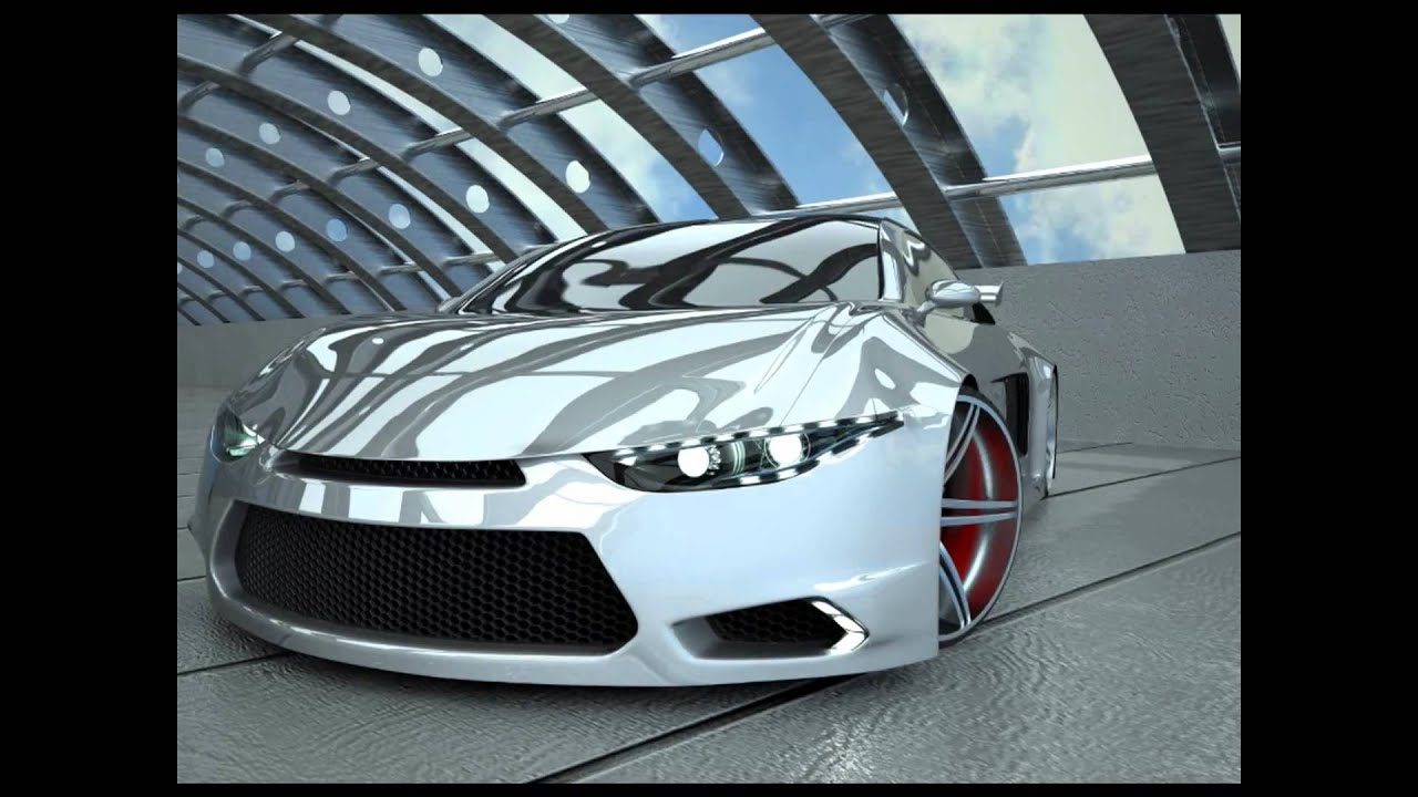 concept car design using 3ds max and mental ray cfd analysis using ansys cfx