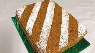 Yangicha Medovik Asalli Tort / Нежный Медовый Торт