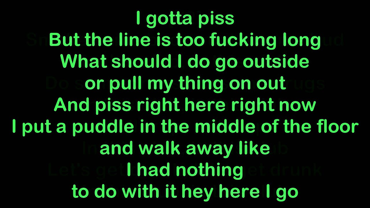 Yelawolf lick the cat lyrics