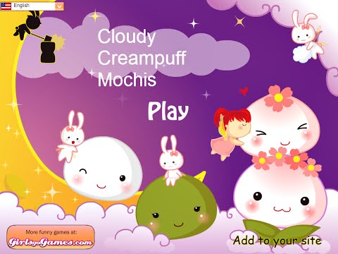 Cloudy Cream Puff Mochis- Fun Online Games for Girls Kids Teens
