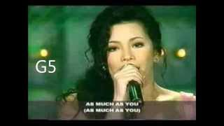 Regine Velasquez - (  vocal showcase ) I wouldn
