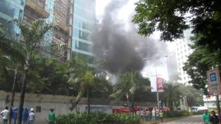 Insular Life @ Cebu Business Park - Fire Incident September 30, 2010