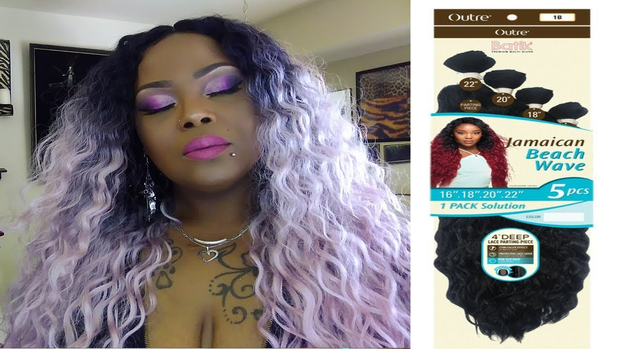 Outre Batik Jamaican Beach Wave Hair 1 Pack Solution Youtube
